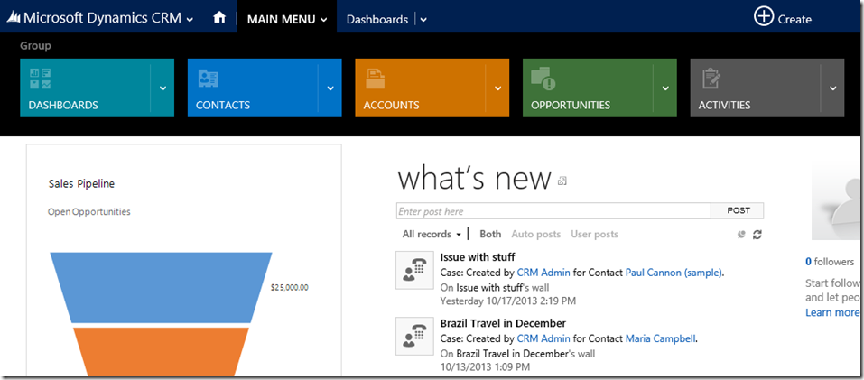 CRM 2013 – How to add reports to the sitemap – Hosk's